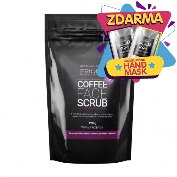 PRIODY – Coffee Face Scrub (250ml)