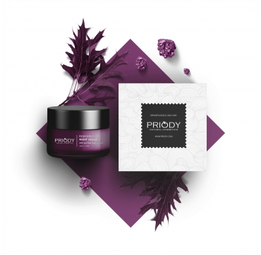 PRIODY - Night Cream with Snail Extract (50ml)