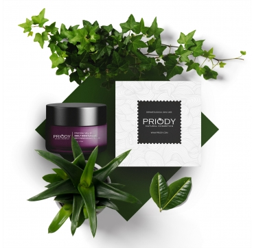 PRIODY | Intensive natural daily moisturizer with 12 herbal extracts & Vit. C 15%